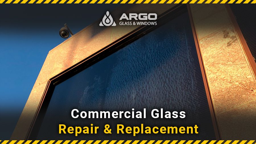 Commercial glass repair & replacement