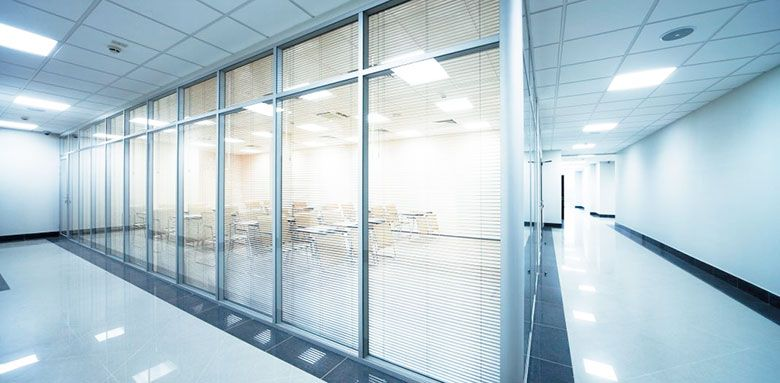 Commercial glass repair and replacement